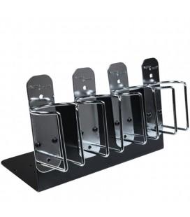 Soporte Metálico para máquinas Kayline (by Wahl) Set 4 unidades plata