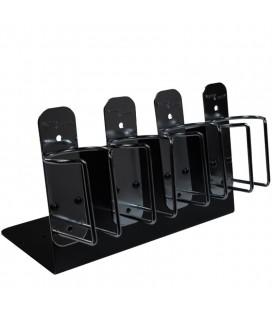 Soporte Metálico para máquinas Kayline (by Wahl) Set 4 unidades Negro