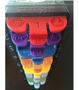 Pack peines Wahl Colores 8u