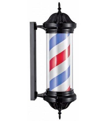 Poste de barbero negro - Barber pole