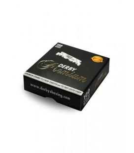 Hojas Derby Premium, caja 100u (medias hojas)