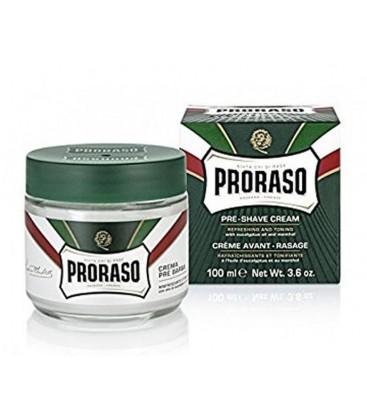 Crema pre-afeitado té verde, proraso 100ml