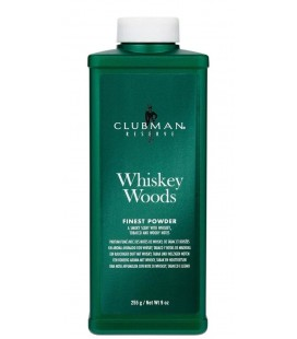 Talco Whiskey Woods Clubman Pinaud 255 ml