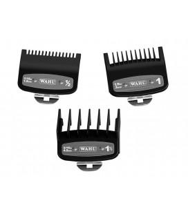 Pack peines Wahl Premium 3u (1.5mm, 3mm y 4,5mm)