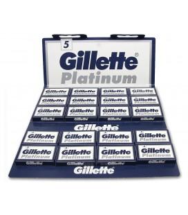 Hojas Gillette, caja 100u.