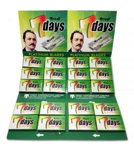 Hojas Treet Seven days Platinum, caja 100u.
