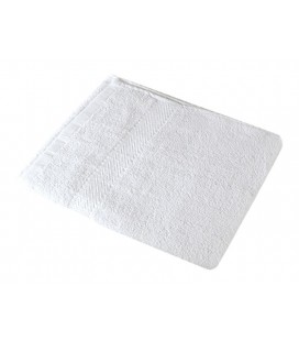 Toalla 100% algodón 40x80cm 380grs/m2 Blanca
