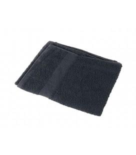 Toalla 100% algodón 40x80cm 380grs/m2 Negra