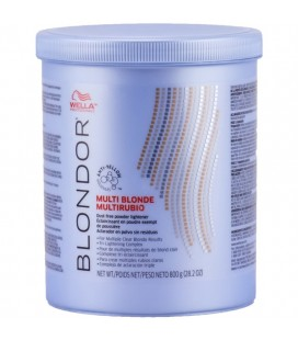 Decoloración Multi Blonde Powder 800 (Wella Blondor)