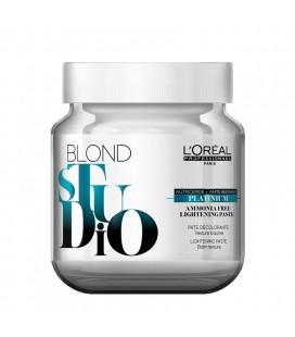 Pasta decolorante Blond Studio Platinum Plus sin amoniaco 500gr Loreal