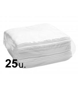 Toalla 40x80cm Spunlace super absorbente Blanca 25unidades