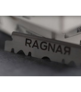 Hojas Ragnar, caja 100 medias hojas - Cuchillas Ragnar