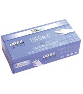 Guantes latex, caja 100u Alta calidad