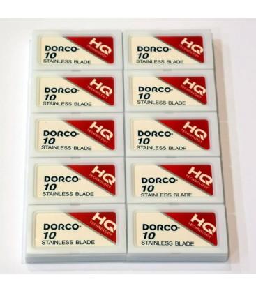 Cuchillas Dorco Red, caja 100u.