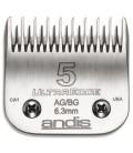 """Cuchillas Andis Ultraedge 6,3mm """"5"""""""