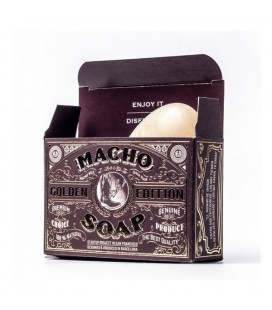 Macho soap golden edition 150ml. - Jabon para barba Macho Beard Company
