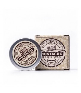Macho mustache hard wax 15ml. - Cera dura natural para bigote Macho Beard Company