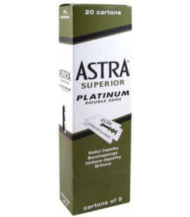 Hojas Astra, caja 100u.