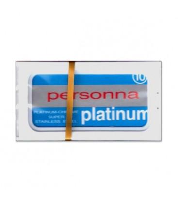 Hojas Personna platinum, caja 10u.