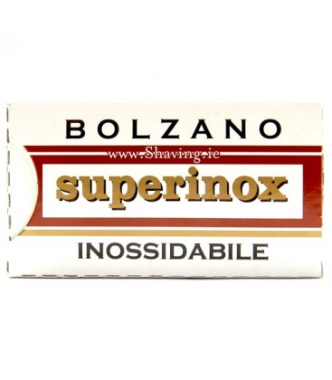 Hojas Bolzano superinox, caja 5u.