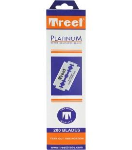 Hojas Treet platinum, caja 200u.