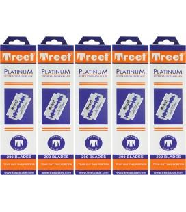 Hojas Treet platinum, 5 cajas 200u.